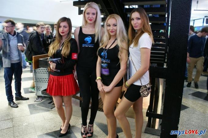 Dziewczęta na IEM Katowice