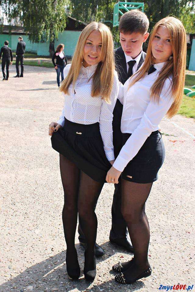 частные фото выпускниц