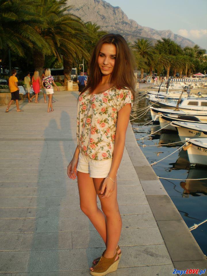 Kamila – fotka z wakacji
