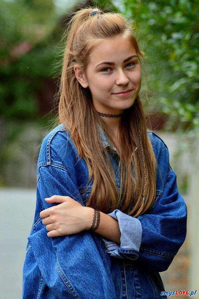 Gabrysia, 18 lat