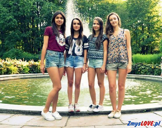 Ania, Kladia, Angelika i Ilona