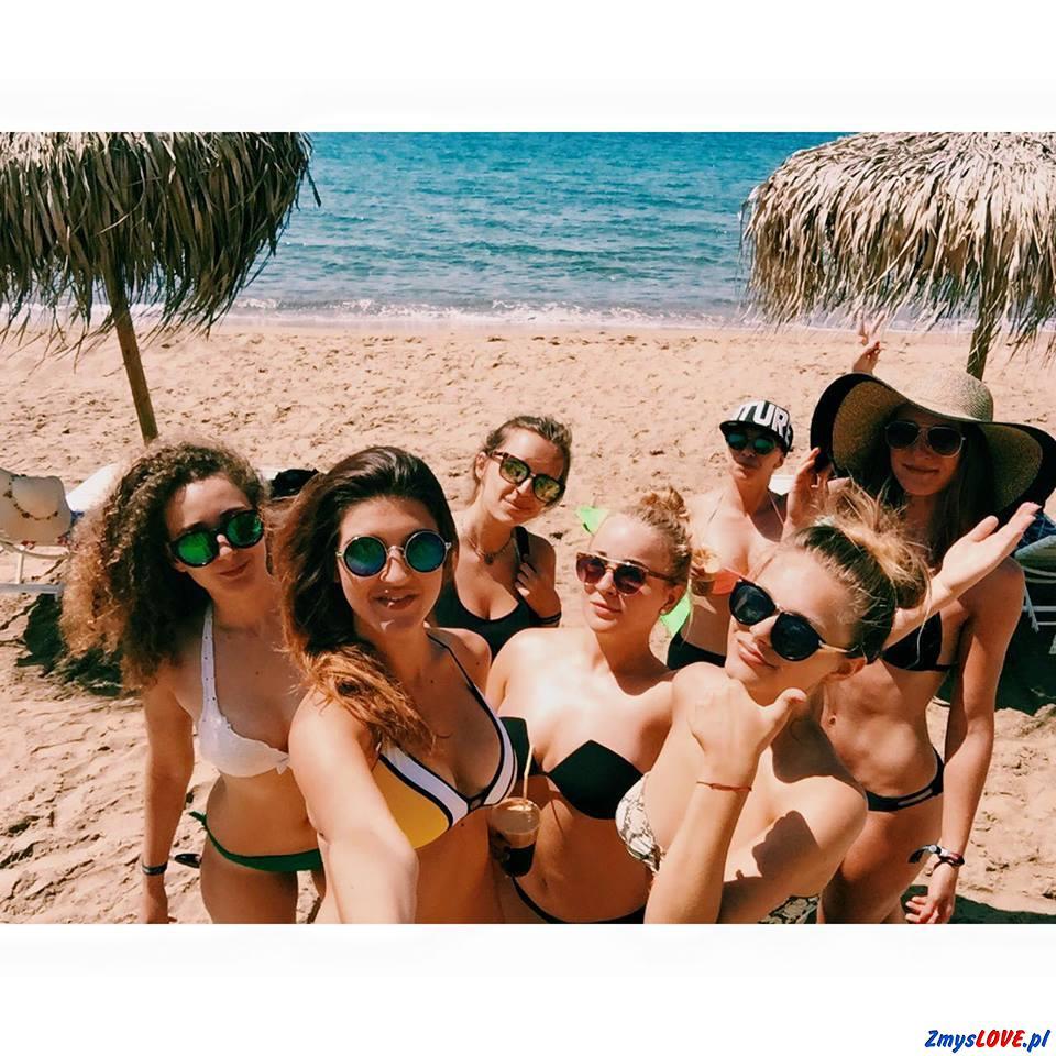 Paulina, Agnieszka, Marta, Michalina, Kasia, Karina i Alexandra