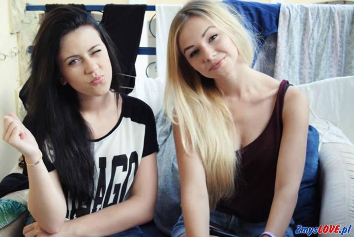 Blanka i Sandra, 17 lat