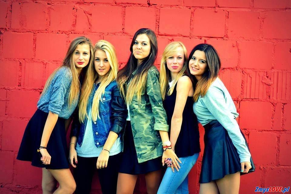 Aneta, Lilka, Adrianna, Michalina, Gabriela