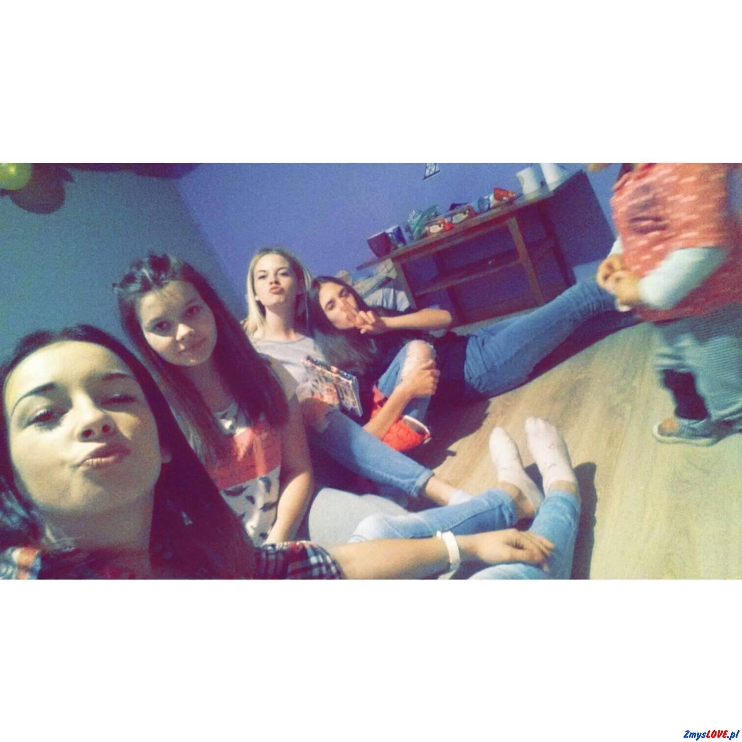Michalina, Luiza, Marlena, Kasia