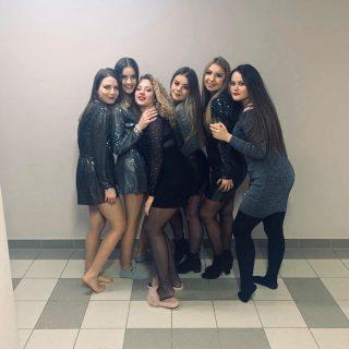 Klaudia, Monika, Patrycja, Antosia, Izabela